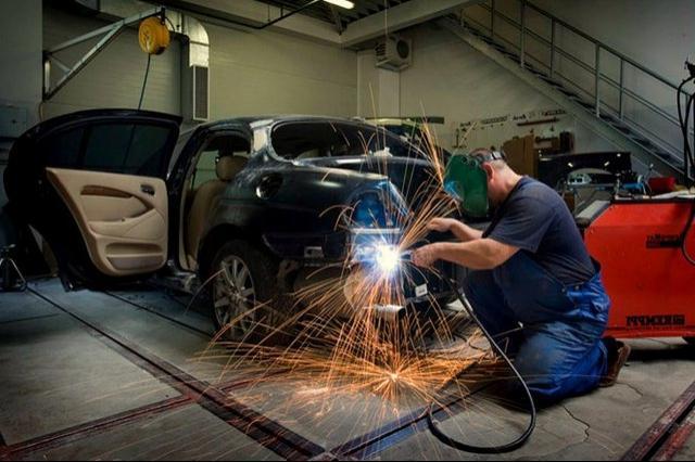 Сварочный кузовной ремонт